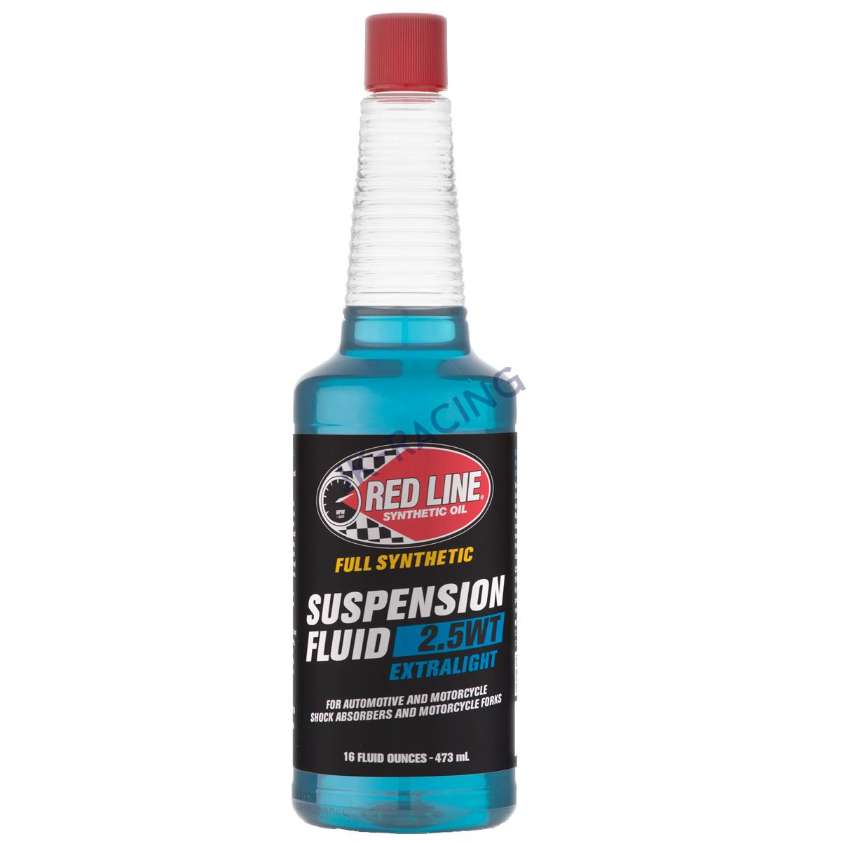 Tlumičový olej Red Line Extralight 2.5WT Suspension fluid - 473ml